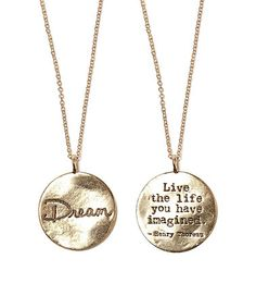 Look at this #zulilyfind! Gold 'Dream' Pendant Necklace by Foxy Originals #zulilyfinds