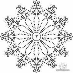 Knitting Patterns Christmas Crochet picture result for stars free Crochet Diagram, Crochet Chart, Crochet Motif, Irish Crochet, Crochet Doilies, Crochet Flowers, Crochet Snowflake Pattern, Crochet Snowflakes, Crochet Stitches Patterns