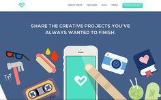 Fostr | Website Showcase | The Design Inspiration