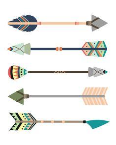 Tribal Themed Nursery - Tribal Arrows Print - Tribal Nursery - Wild and Free - Printable Nursery Art Tribal Nursery, Safari Nursery, Woodland Theme, Woodland Baby, Arrow Decor, Tribal Arrows, Nursery Themes, Themed Nursery, Kids Canvas