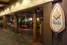 'Ohana Restaurant - Polynesian Resort (YUMMY!)