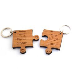 personalised wedding day keyring by made lovingly made | notonthehighstreet.com