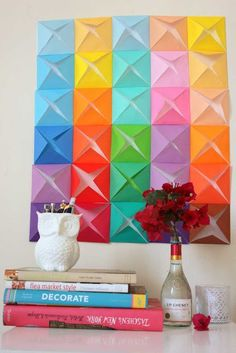 Get inspired: simple Decorating with Origami ...