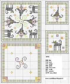 witches biscornu cross stitch