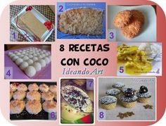 8 recetas más con coco.