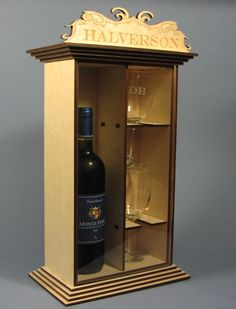 Fancy Wine Gift Box with 2 Laser Etched Wine Glasses http://raynorshinedesigns.com/Imagesinventory/300-5005C.jpg