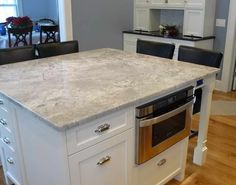 Little Decorations White Spring Granite For Reviews Kitchen: White Spring  Granite With Toaster ~ Gozetta