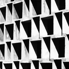 Muro Calado, Cafetin de la Facultad de Arquitectura y Urbanismo. UCV