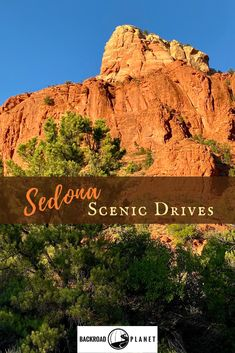 Experience the best Sedona scenic drives along the Red Rock Scenic Byway, the Oak Creek Canyon Scenic Road, and with Pink@ Adventure Tours. #VisitArizona #Sedona #travel #TBIN #scenicbyways #ArizonaHighways via @backroadplanet