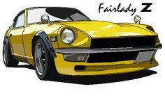 Datsun 240z (Fairlady in Japan)