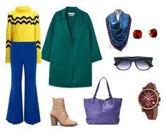 Цветные базовые вещи by shev-evgeniya on Polyvore featuring мода, Joseph, MANGO, Paper London, Gucci, FOSSIL, Burberry and RetroSuperFuture