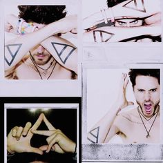 30 Seconds To Mars Tattoos | 30 seconds to mars, jared leto, tattoo, triad - inspiring picture on ...