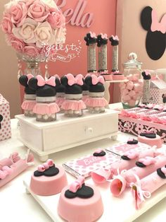 Minnie Mouse Birthday Party Ideas | Photo 13 of 36