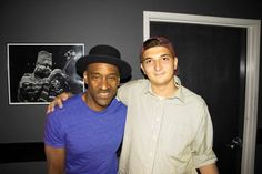 With Marcus Miller.