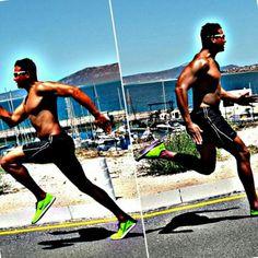 Runner #fitlife #sprinting #langebaan  #westcoast Hill Sprints, West Coast, Sumo, Wrestling, Running Man, Fitness, Sports, Swimwear, Lucha Libre