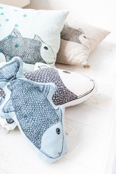 Dormitorios infantiles con peces