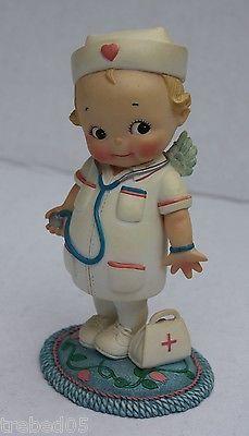 Kewpie-Doll-Nurse-Angel-of-Mercy-Resin-Figurine-Healing-Hearts-collection-2003