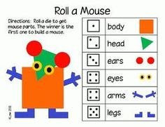 "So fun to use with ""Mouse Shapes""!"