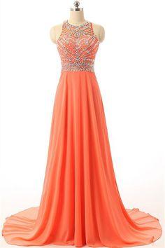 8bffa8f9416b 61 Best Orange prom dress images in 2019   Orange prom dresses, Prom ...