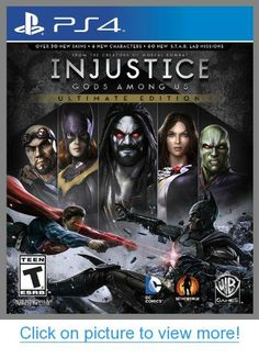 Injustice: Gods Among Us Ultimate Edition - PlayStation 4 Standard Edition