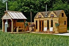 Tinywood Homes  Tinywood Homes creates beautiful homes for those seeking a luxury solution to tiny living. If you are looking for something a little different, unusual, eccentric and cosy, you have come to the right place!