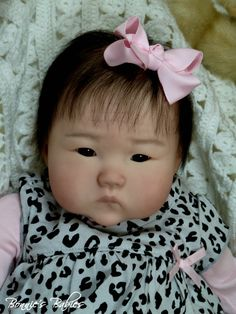 Bonnies Babies Reborn Prototype Ping Lau 034 Anming 034 Beautiful Asian Baby Girl | eBay