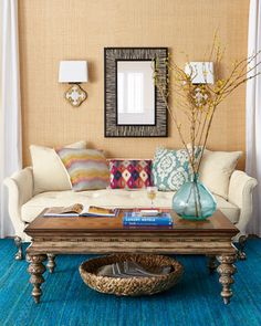 """""""Anna""""+Coffee+Table+by+Ambella+at+Neiman+Marcus."""
