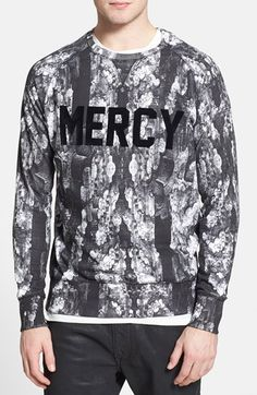 ELEVENPARIS 'Mercy' Print Sweatshirt available at #Nordstrom