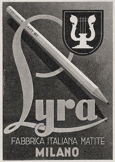 Vintage Italian Posters ~ Lyra    TuscanyAgriturismoGiratola