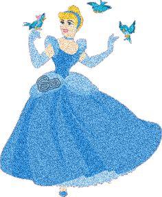 Glitter Graphics | Glitter graphics » Cinderella