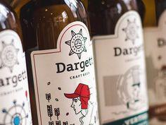 Ta en titt på dette @Behance-prosjektet: \u201cDargett Craft Brewery Branding\u201d https://www.behance.net/gallery/38259467/Dargett-Craft-Brewery-Branding