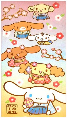 Sanrio Cinnamoroll Cherry Blossom Envelope Set
