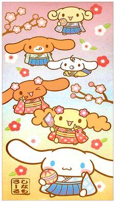 Sanrio Cinnamoroll Cherry Blossom Envelope Set