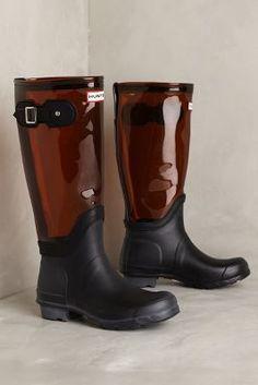 Hunter Original Translucent Boots #anthrofave