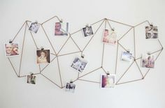 50 Creative Ways to DIY Your Own Wall Art via Brit + Co