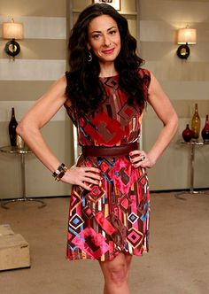 Stacy London in a bold print dress Fashion Tv, London Fashion, Fashion Beauty, Womens Fashion, Funny Dresses, Cute Dresses, Casual Dresses, Stacy London, London Look