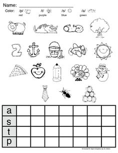 graph letter sounds, free printable ! Plus others free printables for beginning letters