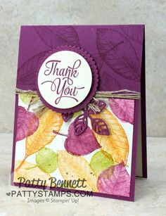 Amazing Faux Watercolor Fall Leaf Cards                                                                                                                                                                                 More