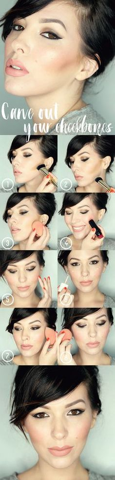 Makeup Monday Tutorial: How To Carve Out Your Cheekbones | keiko lynn | Bloglovin'