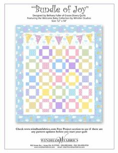 free PDF quilt pattern from Windham Fabrics.