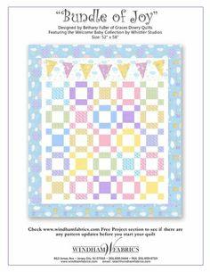 free PDF quilt pattern from Windham Fabrics.
