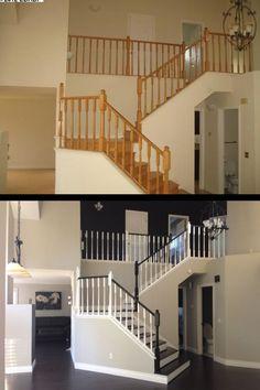 Interior Painting, Stairs, Ladder, Interior Paint, Staircases, Stairway, Ladders, Stairways