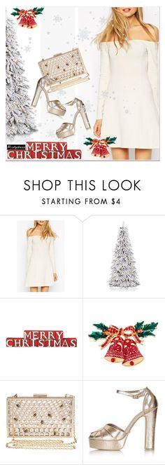 """merry christmas!"" by paculi ❤ liked on Polyvore featuring Dot & Bo, Skinnydip, Topshop, nastydress and holydayparty"