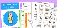 * NEW * Picture Dictionary Animals Word Cards Pack Romanian Picture Dictionary, Picture Cards, New Pictures, Packing, Map, Words, Bag Packaging, Location Map, Maps