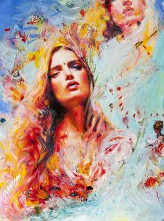 Charmaine Olivia  makes intense, brilliant portraits..