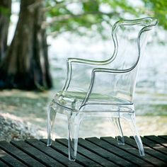 Pasha Transparent Chair