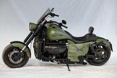 "Boss Hoss Motorcycle ""Military"" Custom Motorcycle."