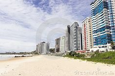 Areias Pretas beach in Natal, RN, Brazil