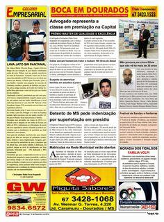 Advocacia Dourados: Boca do Povo - Sucursal de Dourados - Edição 752