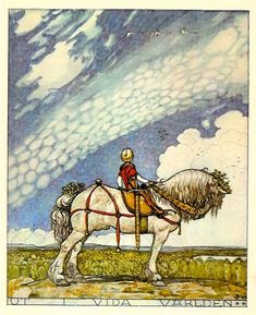 John Bauer, Art Nouveau, Viking Symbols, Fairytale Art, Norse Mythology, Vintage Artwork, Children's Book Illustration, Narnia, Illustrators